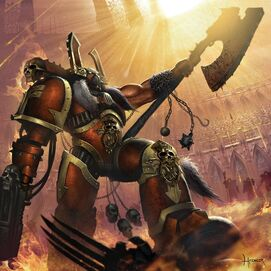 Khârn el Traidor Elegido de Khorne Warhammer 40k