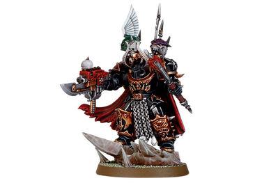 Caos señor del caos en armadura de exterminador