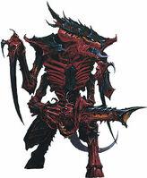 Tyranid warrior