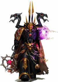 Black Legion Chaos Sorcerer Caos Hechicero Warhammer 40k Wikihammer