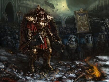 Angron Tranquilo Wikihammer 40k