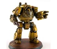 Dreadnought contemptor puños imperales