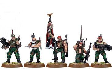 Escuadra de mando catachan
