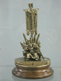 Premio del Torneo de Warhammer 40k Festival de Espadas Madrid 2013 Wikihammer