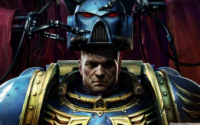 Warhammer 40k space marine-wallpaper-1440x900
