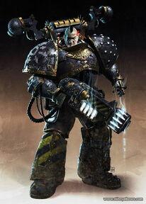 Caos Cadaras Grendel ex guerrero de hierro