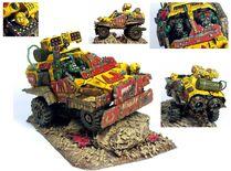 Orko buggy de guerra miniatura