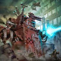 Morkanaut Rojo vs Guardia Imperial Iron Devil