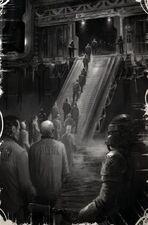 Mundo penal fila prisioneros