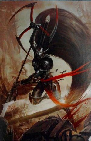 Jain Zar Eldar Señor Fénix Espectros Aullantes Warhammer 40k Wikihammer.jpg