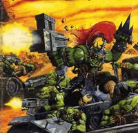 Orkos ataque