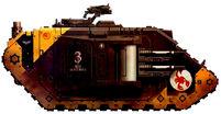 Escorpiones Rojos Land Raider MarkIIb Tercera Compañia Marines Espaciales Wikihammer