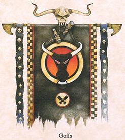 Orkos estandarte klan goff