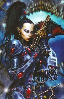 Eldar guerrera vengadora implacable.jpg