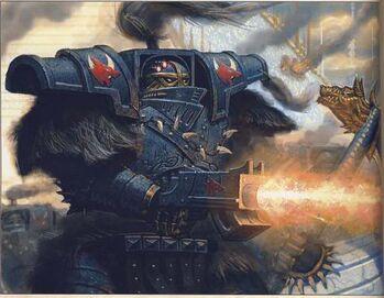 Marines lobos espaciales exterminador 13º compañia