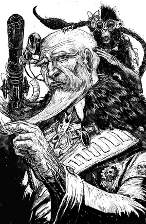 Arkhan Land Mechanicum Master of Mankind ilustración