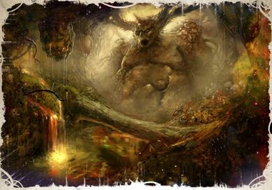 Caos dios del caos nurgle