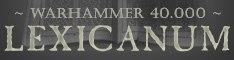 Lexicanum Logo Banner Warhammer 40k Wikihammer.jpg