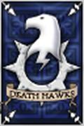 Halcones de la muerte estandarte