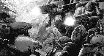 Batalla por macragge ultramarines tiránidos warhammer 40k wikihammer.jpg