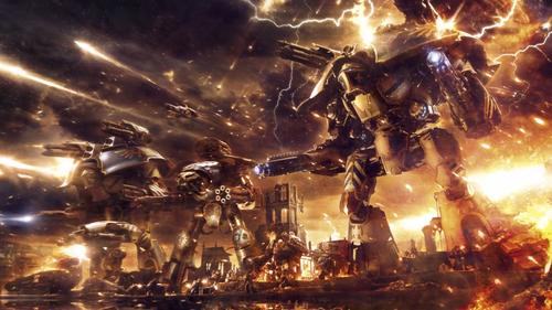 Titanes Warlord Reaver Warhound y Ultramarines en Calth.png