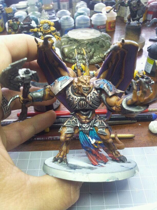 Príncipe Demonio Miniatura Caos Work in Progress Warhammer 40k wikihammer.jpg