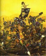 Asalto Orkos Kráneoz de Muerte