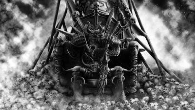 Khorne Dios de la Sangre Trono de Cráneos.jpg