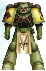 Guerreros Mantis Esquema Color Wikihammer