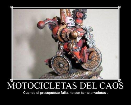 Motocicletas del Caos Humor