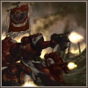 Astartes Marines Espaciales Cuervos Sangrientos Temerarios Wikihammer