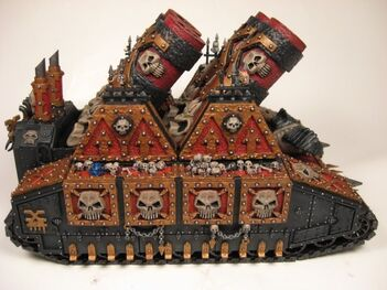 Mini Cañón mortero Atronador de Khorne