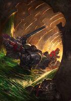 Deathwatch ordo Xenos Muerte Warhammer 40k Wikihammer