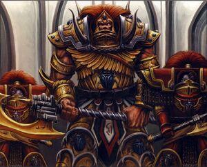 Primarca Magnus Escarabajo Oculto Exterminadores Cataphractii