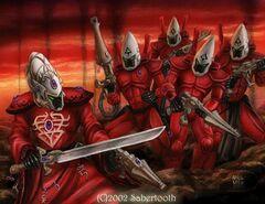 Eldar guardianes Saim-Hann