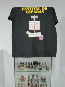 Festival de Espadas Madrid 2013 Wikihammer camiseta