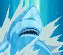 Elemento Agua: Jutsu de Misil Tiburón