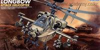 Academy 1/48 Boeing AH-64D Apache