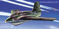 Academy 1/72 Messerschmitt Me 163B/S