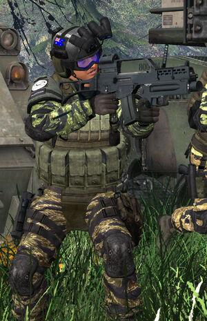 Australian Blackforce Operative