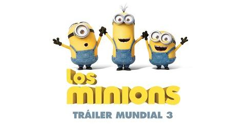 Los Minions Tráiler Mundial 3 (Universal Pictures) HD