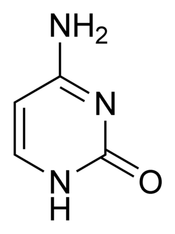 File:Cytosine-chemical-structure.png