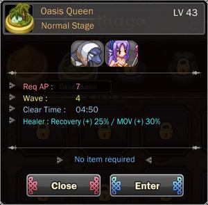 Oasis Queen 1