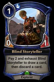 Blind Storyteller