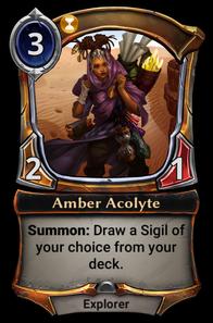 Amber Acolyte