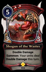 Shogun of the Wastes
