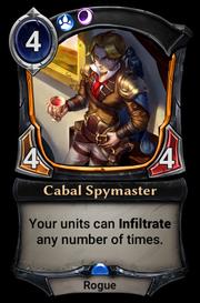 Cabal Spymaster