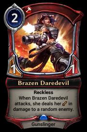 Brazen Daredevil