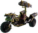 Chaos Bike With Heavy Bolter