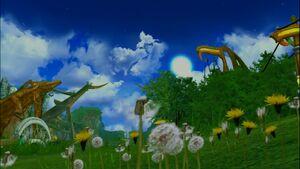 Dandelions in Chorus Plains